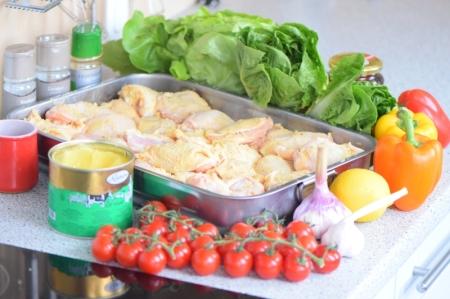 Chicken Wings mit Zitronen-Knoblauchhonig (1)