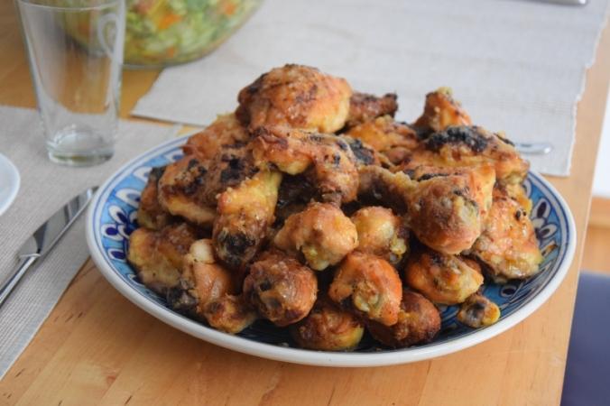 Chicken Wings mit Zitronen-Knoblauchhonig (4)