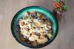 Curry-Huhn-Salat mit Zimt-Möhren (4)