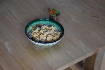 Curry-Huhn-Salat mit Zimt-Möhren (5)