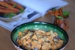 Curry-Huhn-Salat mit Zimt-Möhren (8)