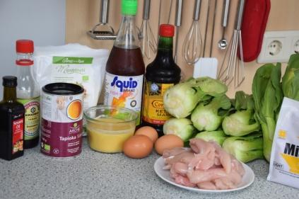 Gebackenes Hähnchen mit Miso-Creme (1)