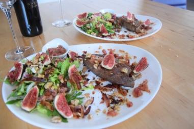 Gebratene Rindsleber mit Feigensalat (10)