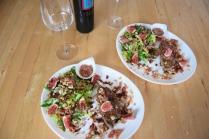 Gebratene Rindsleber mit Feigensalat (7)