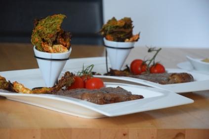 Grünkohlchips und Steak (12)