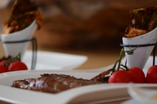 Grünkohlchips und Steak (17)