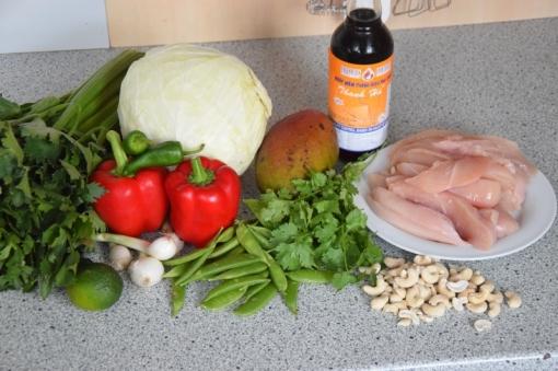 Krautsalat mit Hähnchen (1)