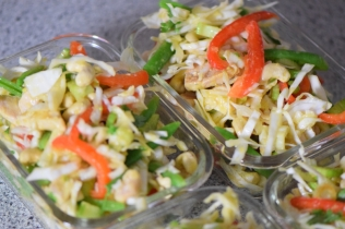 Krautsalat mit Hähnchen (4)