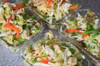 Krautsalat mit Hähnchen (5)