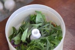 Kräuter-Puffer mit Kräueter-Sauce (3)