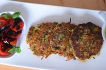 Kräuter-Puffer mit Kräueter-Sauce (6)
