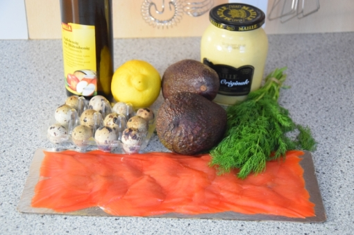 Lachs, Avocado, Wachteleier (1)