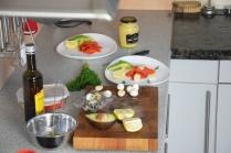 Lachs, Avocado, Wachteleier (2)