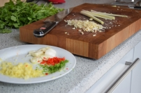 Lachs mit Kokossauce und Kartoffelpüree (2)