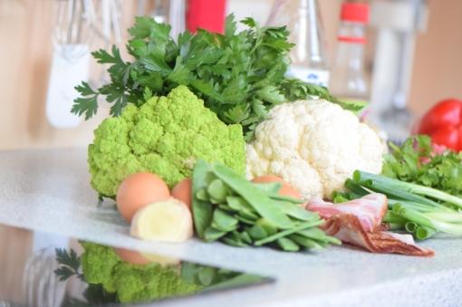 Rindfleisch aus dem Wok mit Reis und Gemüse (1)