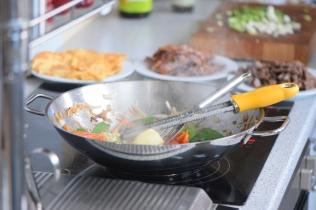 Rindfleisch aus dem Wok mit Reis und Gemüse (10)