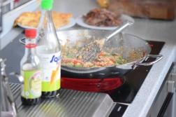 Rindfleisch aus dem Wok mit Reis und Gemüse (13)