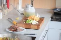 Rindfleisch aus dem Wok mit Reis und Gemüse (14)