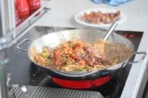 Rindfleisch aus dem Wok mit Reis und Gemüse (16)