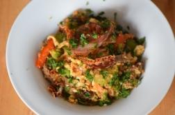 Rindfleisch aus dem Wok mit Reis und Gemüse (17)