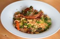 Rindfleisch aus dem Wok mit Reis und Gemüse (19)