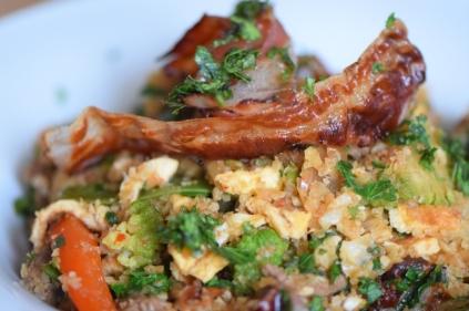 Rindfleisch aus dem Wok mit Reis und Gemüse (20)