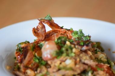 Rindfleisch aus dem Wok mit Reis und Gemüse (22)