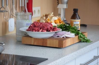 Rindfleisch-Pilze-Wok (1)