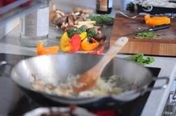 Rindfleisch-Wok mit viel Gemüse (2)
