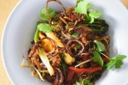 Rindfleisch-Wok mit viel Gemüse (4)