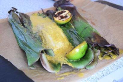Rotbarbe in Ananas-Chili-Sambal (12)