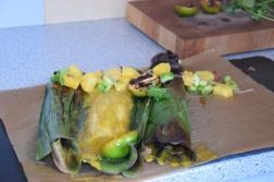 Rotbarbe in Ananas-Chili-Sambal (13)
