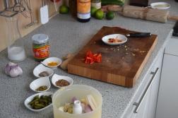 Rotbarbe in Ananas-Chili-Sambal (2)