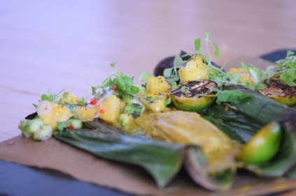 Rotbarbe in Ananas-Chili-Sambal (20)