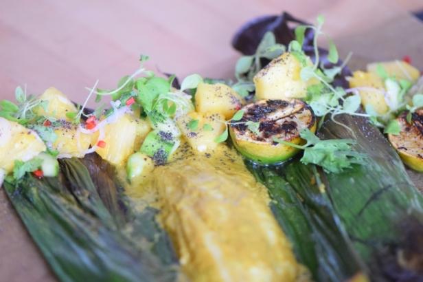 Rotbarbe in Ananas-Chili-Sambal (23)