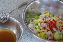 Rotbarbe in Ananas-Chili-Sambal (6)