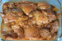Scharfe Hähnchenkeulen mit Papaya-Mango-Salsa (2)