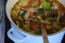Scharfe Nudel-Pilzsuppe (5)