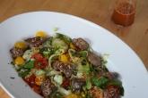 Scharfer Salat mit kalter Hühnerleber (4)