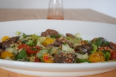 Scharfer Salat mit kalter Hühnerleber (6)