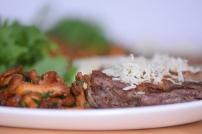 Steak mit Eierschwammerl und Rucola (6)