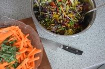 Steak mit Salat und Ofenpommes (4)