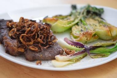 Steak und Pak Choi (10)