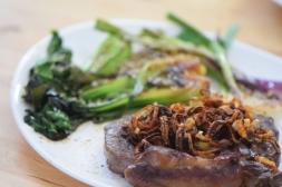 Steak und Pak Choi (5)