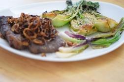 Steak und Pak Choi (7)