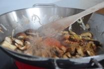 Blumenkohl-Curry mit Pilzen (3)