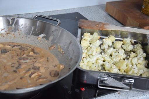 Blumenkohl-Curry mit Pilzen (6)