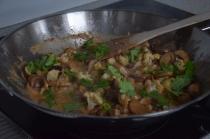 Blumenkohl-Curry mit Pilzen (7)