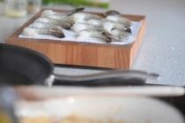 Garnelen mit Blumenkohl-Reis (2)