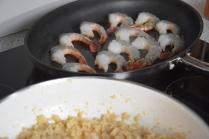 Garnelen mit Blumenkohl-Reis (3)